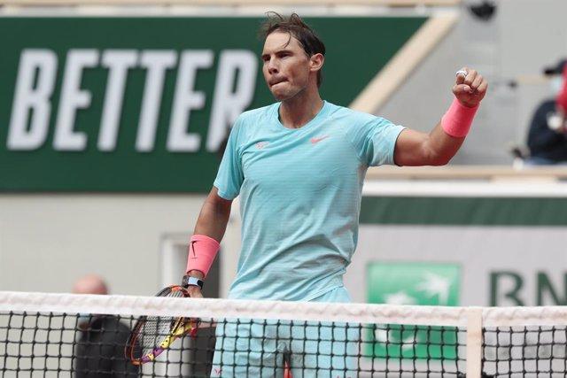 AV.- Tenis/Roland Garros.- Rafa Nadal derrota a Schwartzman y buscará su decimot