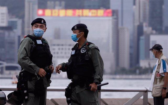 China.- Detenidas nueve personas en Hong Kong por organizar la huida a Taiwán de