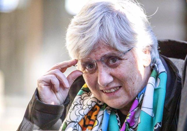L'exconsellera i eurodiputada Clara Ponsatí