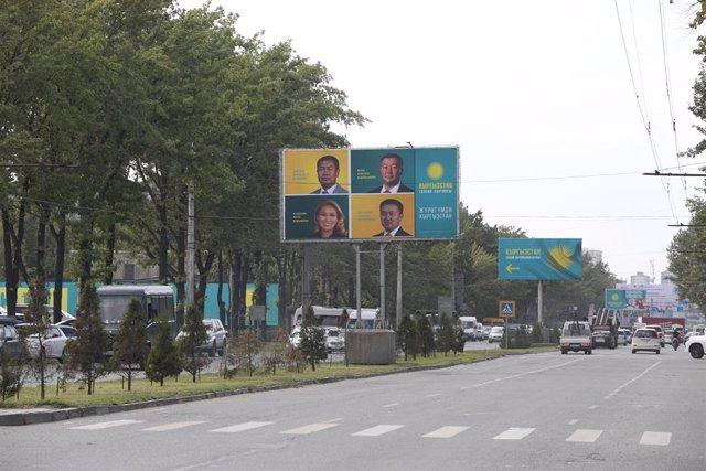 Kirguistán.- El Gobierno kirguís anuncia el toque de queda nocturno en la capita