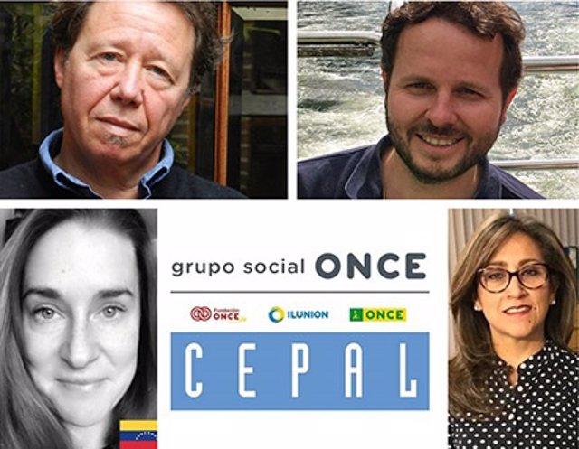 Autores del estudio sobre Discapacidad y pandemia en América Latina y Caribe, realizado por ONCE y Cepal.