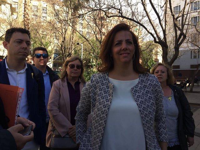 La portaveu adjunta de JxCat a l'Ajuntament de Barcelona, Francina Vila