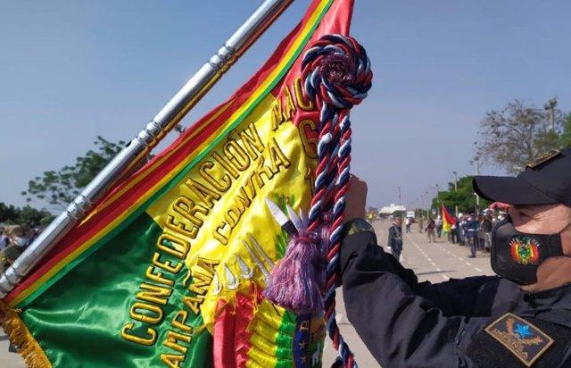 Homenaje a la lucha contra el grupo guerrillero de Ernesto Che Guevara en Bolivia