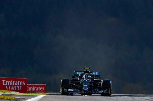 Fórmula 1/GP Eifel.- Bottas se adjudica una reñida pole y Sainz comenzará décimo