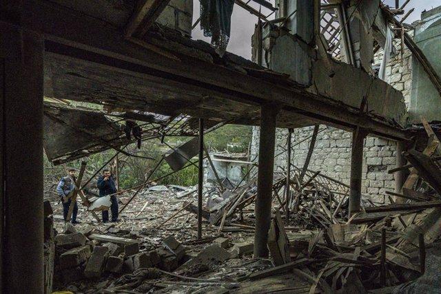 Armenia/Azerbaiyán.- El CICR se ofrece para facilitar el retorno de los caídos y