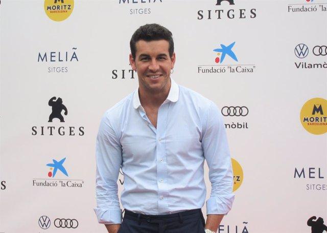 L'actor Mario Casas, en el Festival de Cinema Fantàstic de Sitges