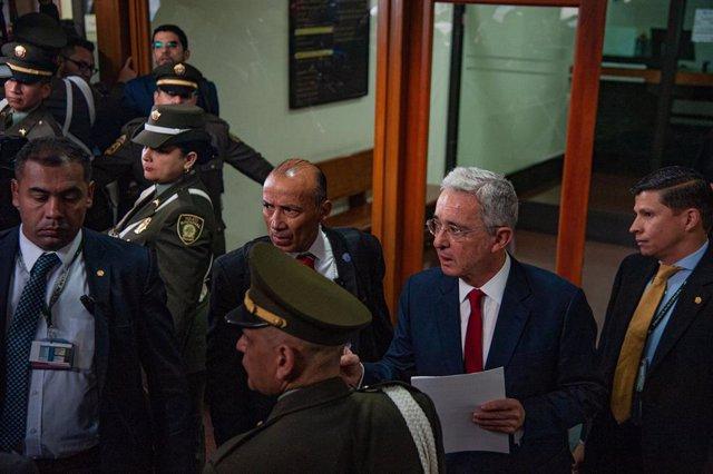 El expresidente de Colombia Álvaro Uribe.