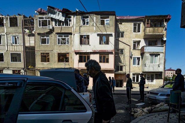 Armenia/Azerbaiyán.- Lavrov llama a Azerbaiyán y Armenia tras denuncias por viol
