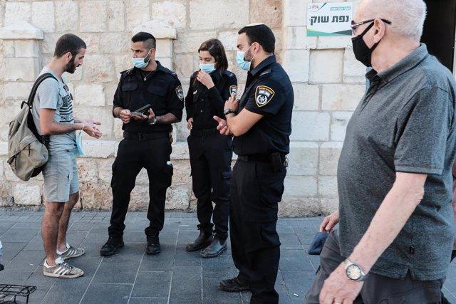 Israel.- Miles de multados en una marcha ultraortodoxa en Israel por ignorar las