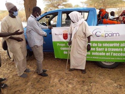 Una cooperativa avícola ayudará a casi 14.000 senegaleses de zonas rurales a través de un proyecto de cooperación