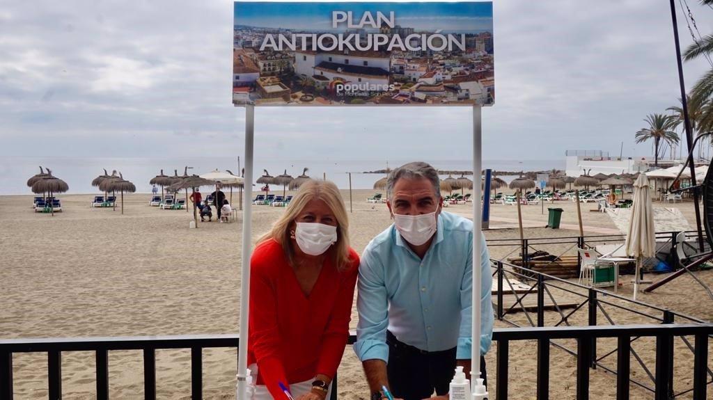 """Bendodo (PP) advierte del """"daño reputacional de la okupación"""" en destinos turísticos como Marbella 3"""
