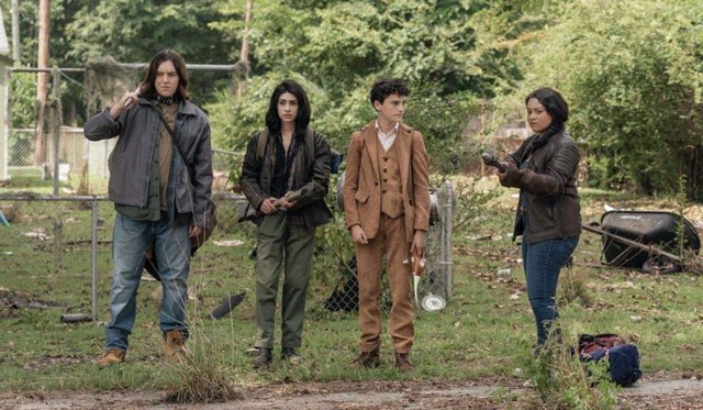 The Walking Dead: World Beyond presenta a un personaje que conecta con Fear TWD
