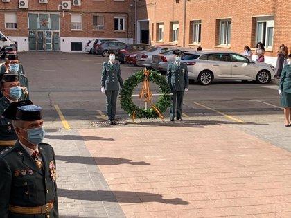 La Guardia Civil de Málaga celebra la festividad de su patrona con un acto interno