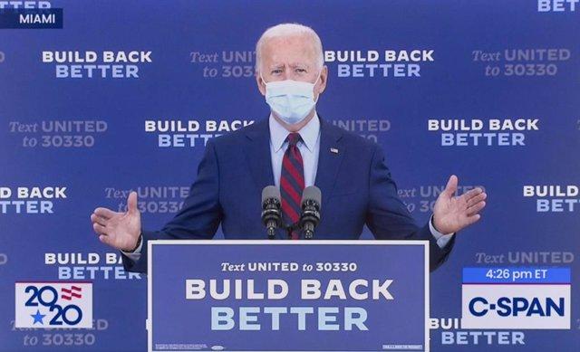 """EEUU.- Biden le pide a Trump que """"escuche a los científicos"""" y """"apoye"""" el uso de"""