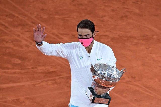 """Tenis/Roland Garros.- Nadal y Roland Garros: """"Es una historia de amor inolvidabl"""