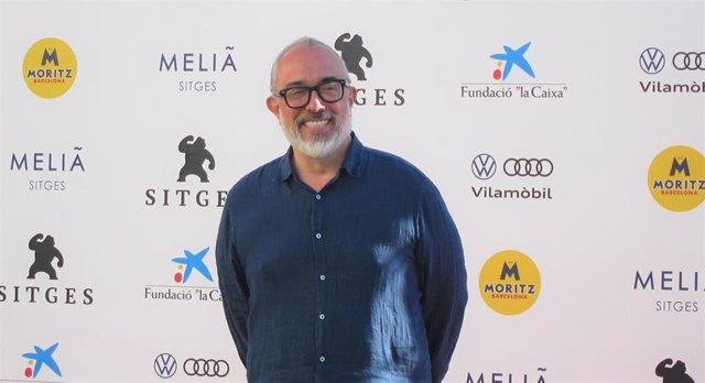 El director Álex de la Iglesia, en el Festival de Cine de Sitges