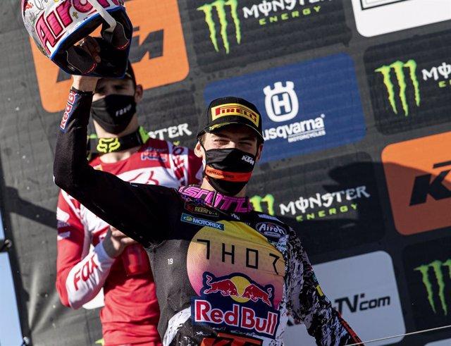 Motocross.- Jorge Prado responde en Madrid con un tremendo doblete
