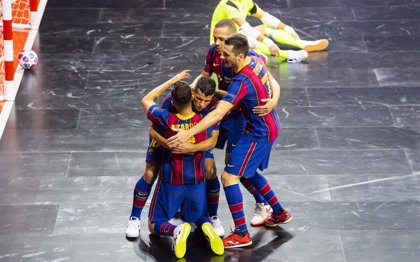 El Barça tumba a ElPozo y reconquista la Champions