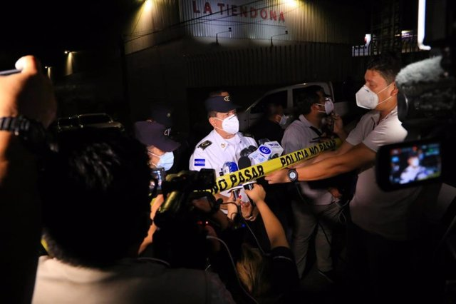 El director de la Policía de El Salvador tras un séxtuple homicidio en la capital