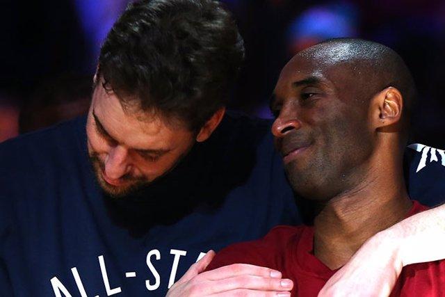 """Baloncesto/NBA.- Pau Gasol recuerda a Kobe Bryant en el título de los Lakers: """"E"""