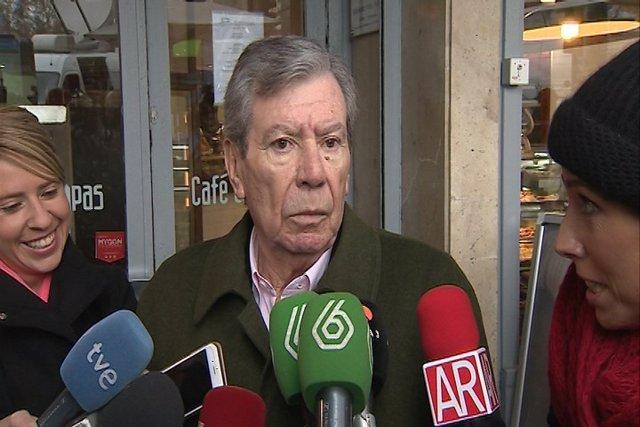 José Luis Corcuera, miembro del PSOE y ex ministro de Interior de España.