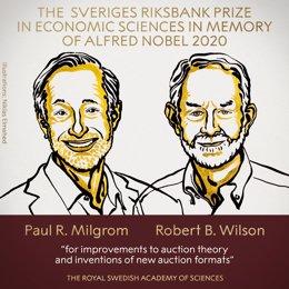 Nobel.- Paul R. Milgrom y Robert B. Wilson, galardonados con el Nobel de Economí