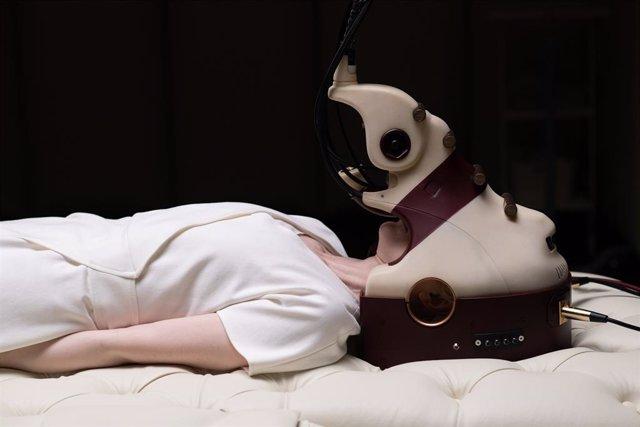 Fotograma de la pel·lícula 'Possessor' de Brandon Cronenberg