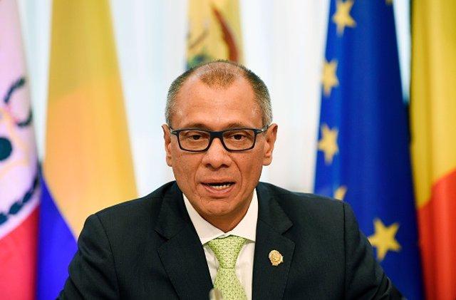 El exvicepresidente de Ecuador, Jorge Glas.