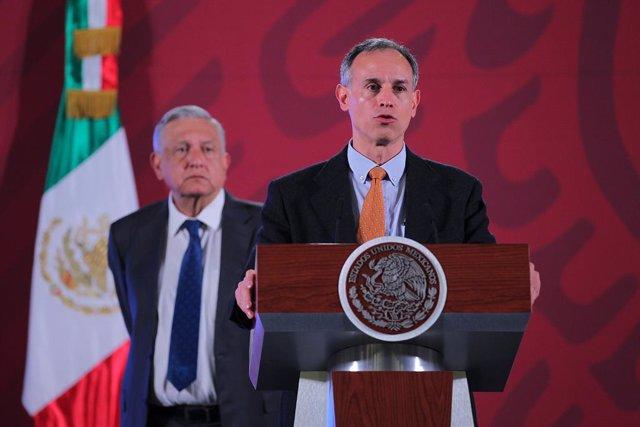 Coronavirus.- México supera los 820.000 casos y suspende la sesión de la Comisió