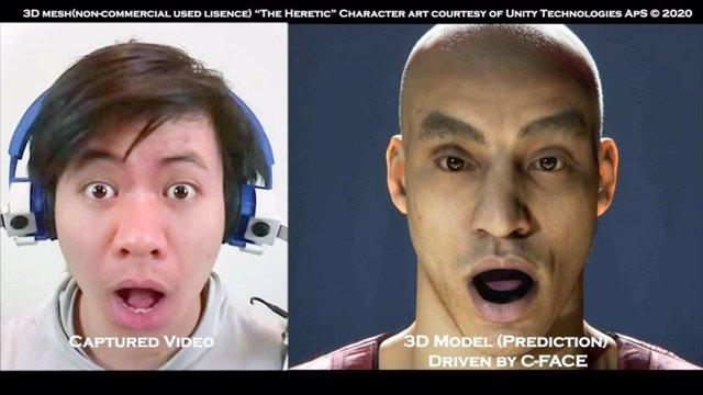 C-Face, los auriculares capaces de detectar las expresiones faciales incluso con