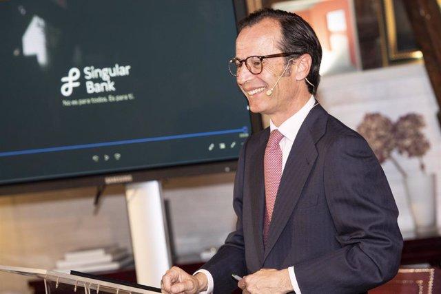 Javier Marín, consejero delegado de Singular Bank