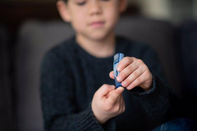 Diabetes en niños.