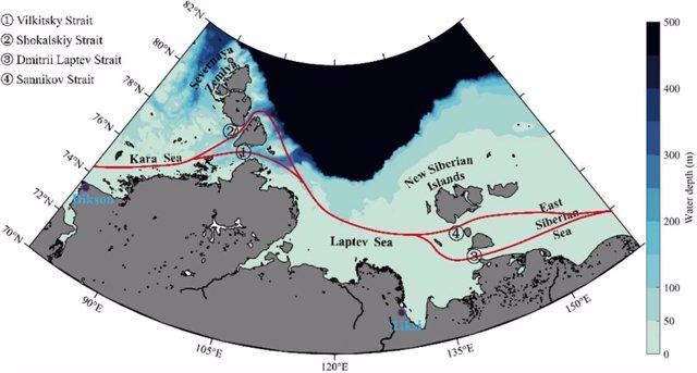 El deshielo habilita el atajo marítimo ártico entre Europa y Asia