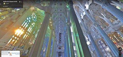 Portaltic.-La Sagrada Familia de Barcelona y la Estación Espacial Internacional, entre los favoritos de Google Street View