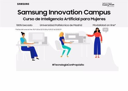 Portaltic.-Samsung anuncia un nuevo curso de Inteligencia Artificial gratuito para mujeres