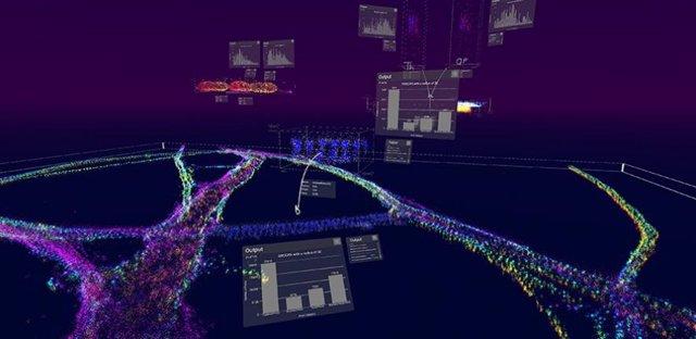 Un software de realidad virtual permite 'andar' dentro de las células