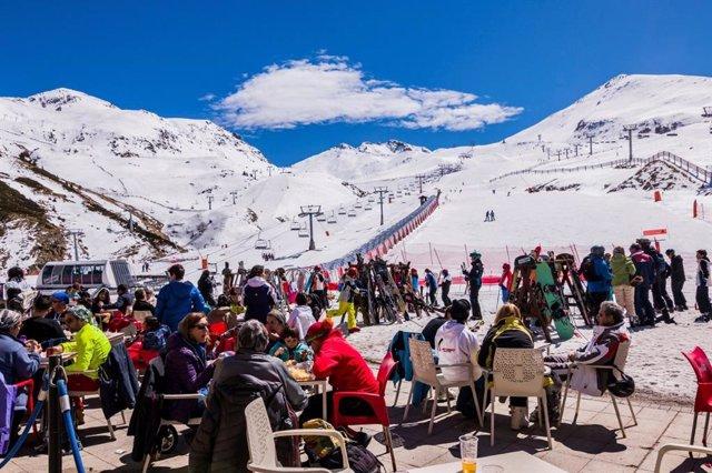 L'estació d'esquí Boí Taüll (Lleida)