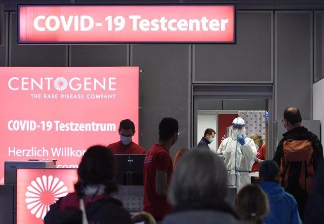 Control sanitari a Dusseldorf (Alemanya).