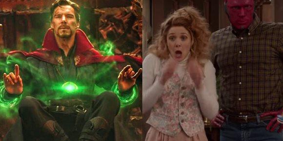 1. ¿Reparará Doctor Strange el multiverso roto por Bruja Escarlata en WandaVision?