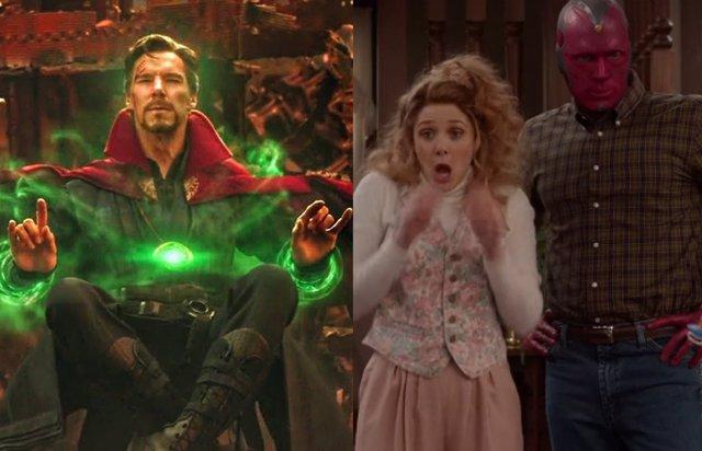 ¿Reparará Doctor Strange El Multiverso Fracturado Creado Por Bruja Escarlata En Wandavision?