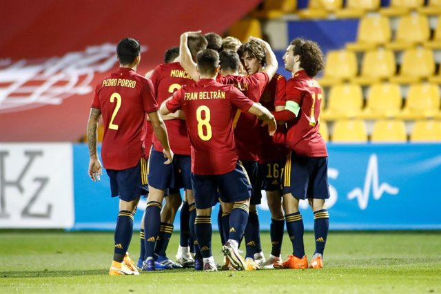 Fútbol/Sub-21.- Crónica del España - Kazajistán, 3-0