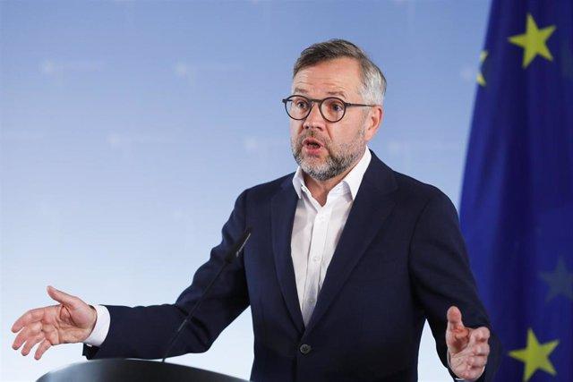 El el secretario de Estado de la Unión Europea alemán y presidente de turno de la UE, Michael Roth