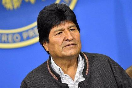 """Bolivia.- Evo Morales y Rafael Correa apoyan a Iglesias ante los """"ataques constantes"""" que recibe"""