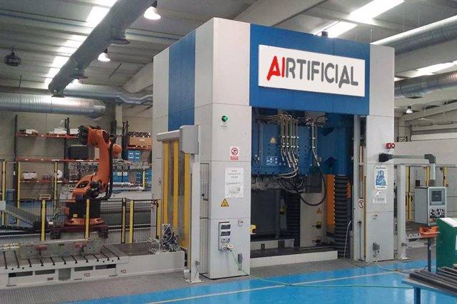 Economía.- Airtificial pone en marcha la planta de energía solar fotovoltaica en