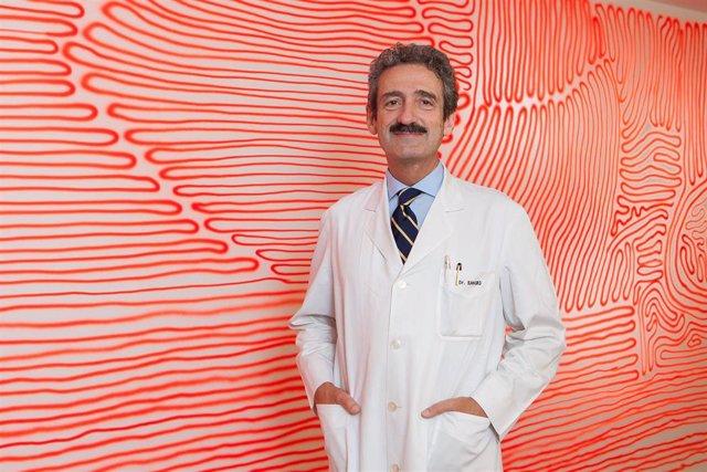 El doctor Bruno Sangro, director de la Unidad de Hepatología de la Clínica Universidad de Navarra.
