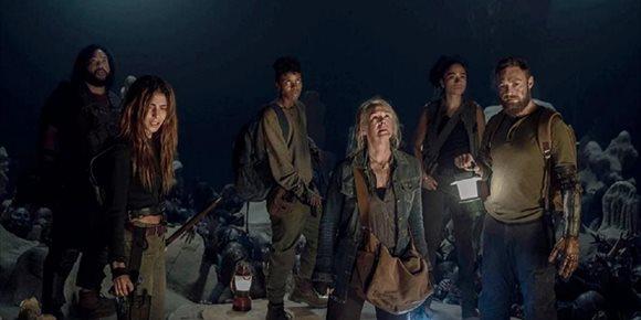 2. La temporada 10 de The Walking Dead reanuda su rodaje con férreas medidas contra el coronavirus