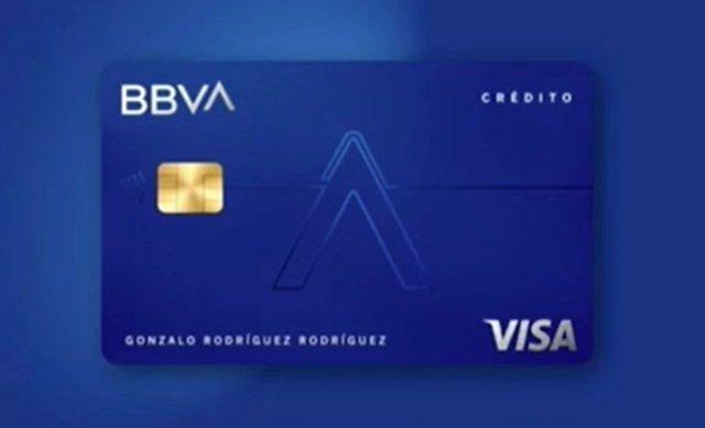 Nueva tarjeta Aqua de BBVA.