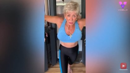 Iris Davis, la fisioculturista de 76 años, cuenta cómo el ejercicio físico la ayudó a no hundirse tras perder a su hijo