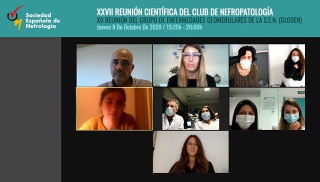 Expertos participantes en la XI Reunión del Grupo de Enfermedades Glomerulares (GLOSEN) y la XXV Reunión Científica del Club de Nefropatología