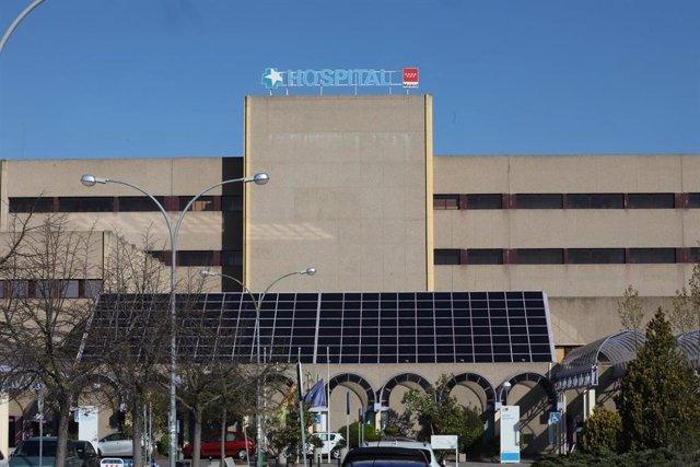 Fachada del Hospital Universitario de Getafe.